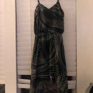 Express dress with pattern worn once